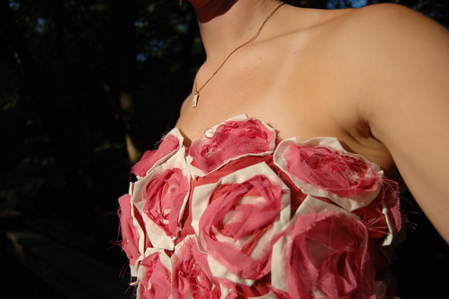 DIY Fendi Rose Dress