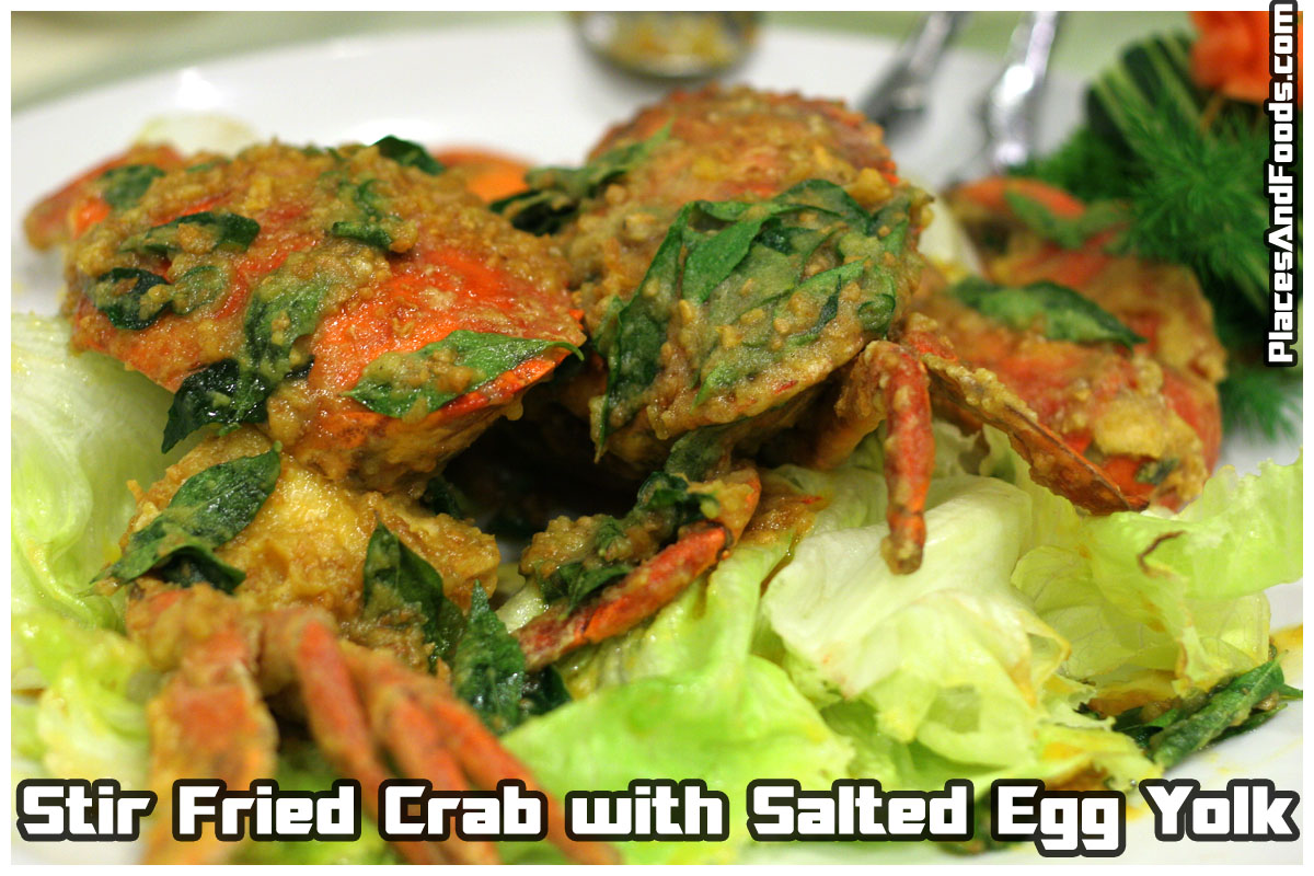 egg yolk crab