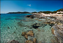 Playa des Salinas - Ibiza (gabrielescotto) Tags: trip sea vacation sky panorama art beach rock photoshop island nikon bravo paradise mare view wide sigma salinas explore ibiza cielo frontpage spiaggia vacanze scogli immensity adobecameraraw baleari sigma1020 nikond80 gabrielescotto iloveibiza playadessalinas