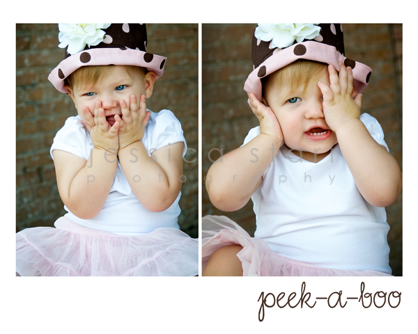 peekaboo collage