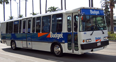 Budget (Nick Leonard) Tags: california blue orange white bus la losangeles budget nick transportation shuttle vehicle nickleonard rentalcarservice
