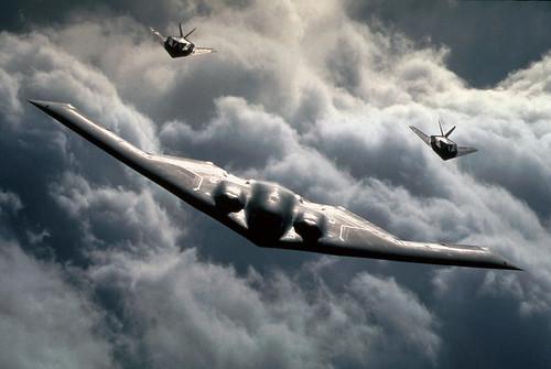 フリー画像| 航空機/飛行機| 軍用機| 爆撃機| B-2 スピリット| B-2 Spirit|      フリー素材|