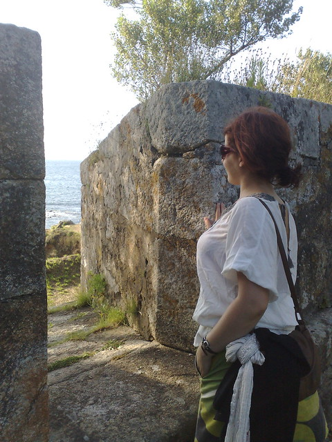 Monica en el Castillo de Santa Cruz by Cabezabajo