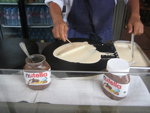 The Making of a Crepe in Paris