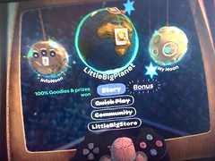 LBP Bonus section on menu
