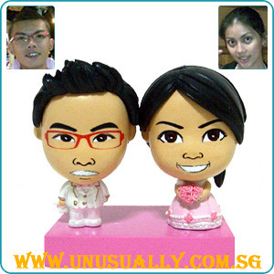 Custom Couple Mini Dolls
