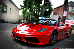 16M (Derek Walker Photo (Derk Photography)) Tags: new york red ny island nikon long maroon edited convertible ferrari spyder scuderia derk 16m d80
