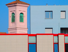 it reminds me of something....... (montel7) Tags: buildings blues edifici azzurri creattivit artofimages bestcapturesaoi vividstriking