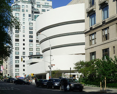 Solomon R. Guggenheim Museum with neighbors