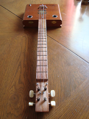Cigar Box Baritone Ukulele by Resist Instrument Works