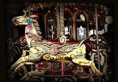Come Ride With Me On The Carousel....... (Wire_cat) Tags: psp carousel carouselhorse earlsbarton manipulatedimage supershot bej wirecat earlsbartonrally
