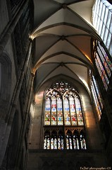 Cologne cathedral (Klner Dom) (EnDie1) Tags: windows church germany deutschland cathedral dom fenster cologne kln glasmalerei rhine colognecathedral endie1