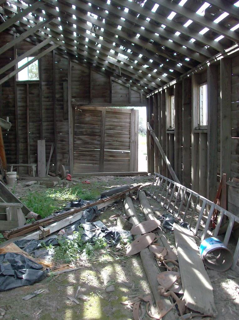 Uniontown Farmhouse, Barn Interior