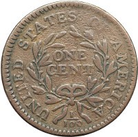 1795 Large Cent S-79 rev