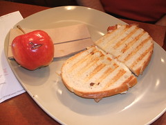 Sandwich and bad apple