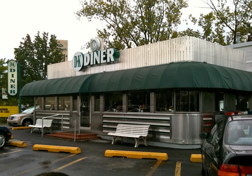 Dk Diner West Chester Pa Under The Green Awning Is A