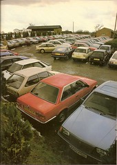 1980's Car Park from 1985 (Trigger's Retro Road Tests!) Tags: park cars car fiesta bmw 1980s 1985 cavailer