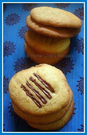 cinnamon flat cookies
