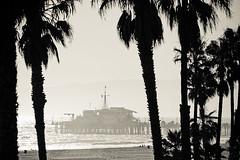 monica's pier (tomms) Tags: ocean california sunset sea beach pier losangeles pacific santamonica