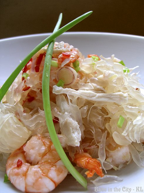 Prawn and Chicken Pomelo Salad