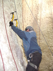 DSCF3041 (subflux) Tags: irish ice water training fun indoor tools climbing tired axe balance practice ropes climber cascade hardwork crampon tool iceclimbing waterice exciting pumped axes kinlochleven tiring darkskiez indoorclimbing bryars icefactor exhilerating icetools steepice iceaxes markbryars verticalice