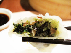 spinach dumplings@ din tai fung