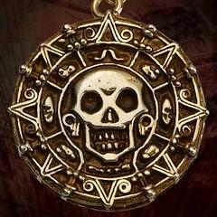 Pirate Medallion (skullgirl24) Tags: pirate medallion