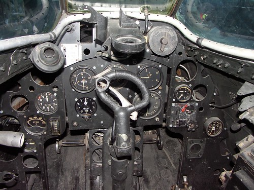 Warbird picture - De Havilland DH.100 Vampire FB mk2 cockpit