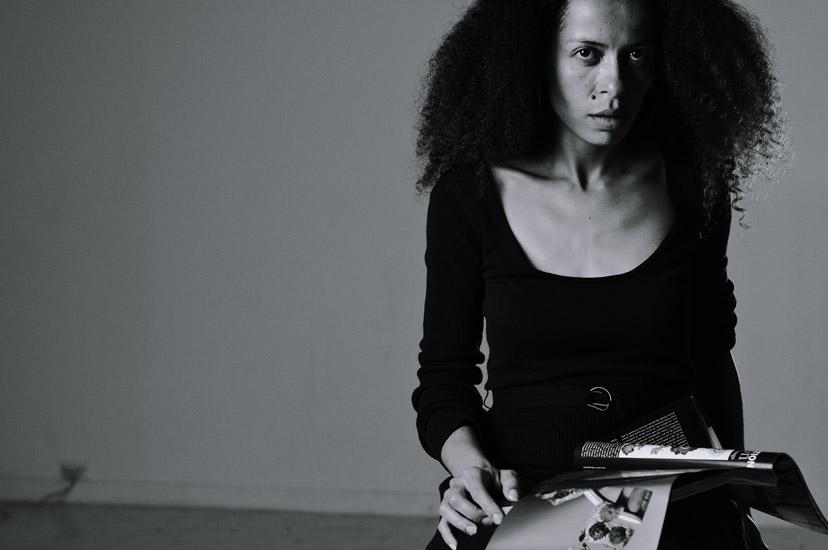 B&W Studio portrait series, Artist Elodie Silberstein (1)