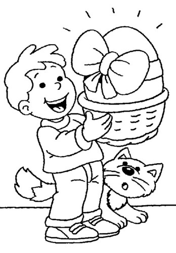 easter coloring pages 2