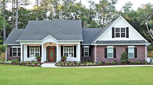 Southern Inspired House Design