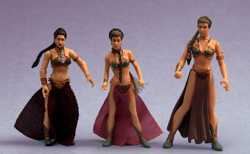 Evolution of Slave Leia