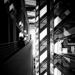 MACBA Light show / Luz en el MACBA