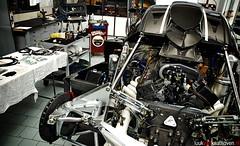 The Operation Table.. (Luuk van Kaathoven) Tags: auto car photography nikon factory automotive r van zonda v12 pagani luuk d80 luukvankaathovennl kaathoven