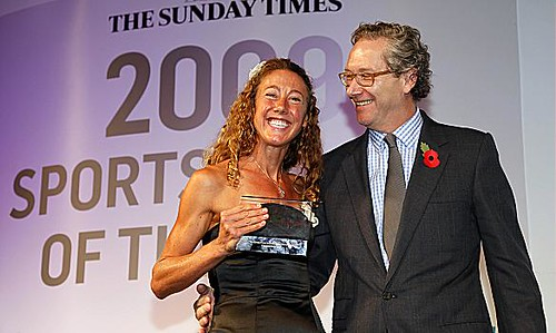 Chrissie  Sunday Times 2009 Sportswoman