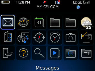 BlackBerry Curve 8520 Theme