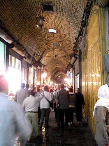 More shops in the covered suq, Aleppo