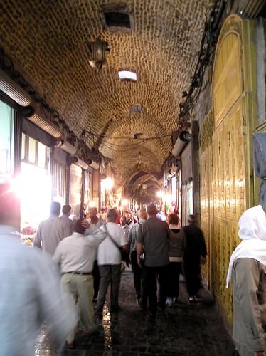 More shops in the covered suq, Aleppo