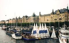 Strandvgen as seen from the island of Djurgrden, Stockholm port (pigtailsandcombatboots) Tags: from port island sweden stockholm seen djurgrden strandvgen