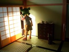 OOOOHHHH, un lindo gatito! (Lnovell7) Tags: anime toy actionfigure manga figure yotsuba jtoy revoltech jfigure