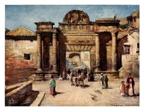 016-Entrada a Córdoba-Southern Spain 1908- Trevor Haddon