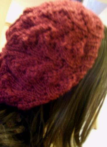 Spring Beret Knitting Pattern : Craftaganza: Spring Beret