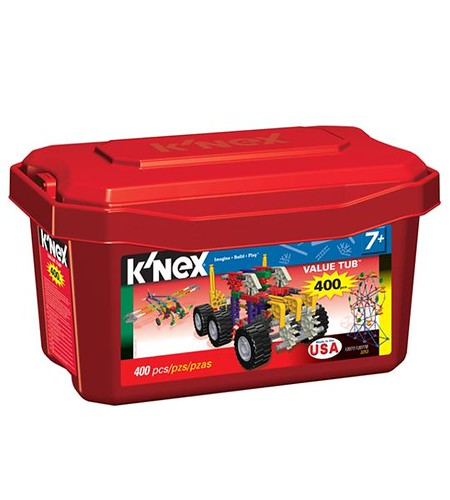 K'NEX 400 piece tub