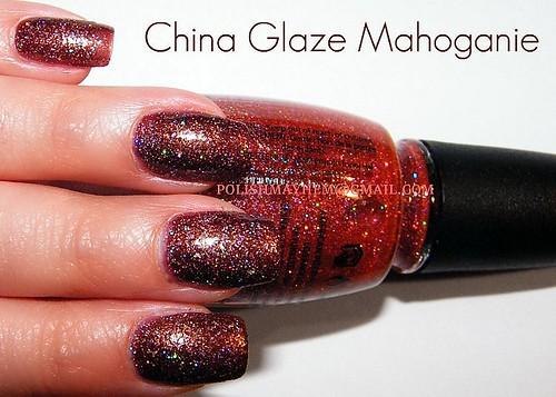 China Glaze Mahoganie