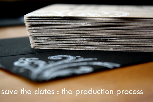 save the dates : production