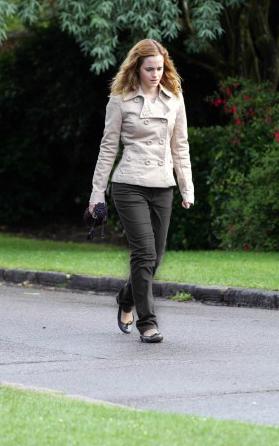 Emma Watson pasea parque