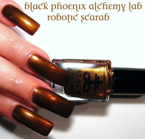 Black Phoenix Alchemy Lab Robotic Scarab