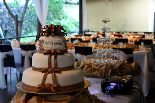 Fai & Chean wedding cake 2