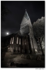 st.johannis / 2. version (manfred-hartmann) Tags: moon church night germany mond nacht herbst kirche explore hartmann hdr manfred hanse hansestadt lneburg niedersachsen grusel amsande stjohannis johanniskirche