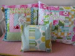 My first Nicey Jane Pillows (Sweet Baby Jamie) Tags: jane heather bailey nicey